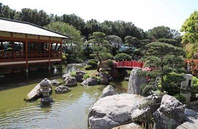 Monte Carlo Japanese gardens