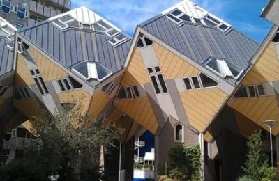 The Cube Houses in Rotterdam